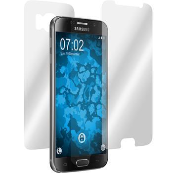 4 x Galaxy S6 Schutzfolie klar Fullbody