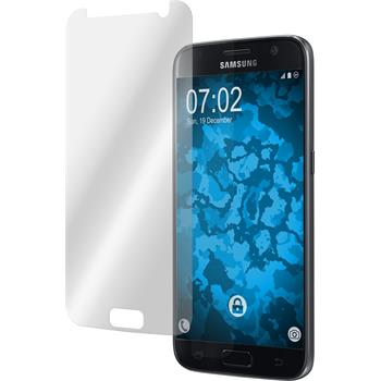 4 x Galaxy S7 Schutzfolie klar