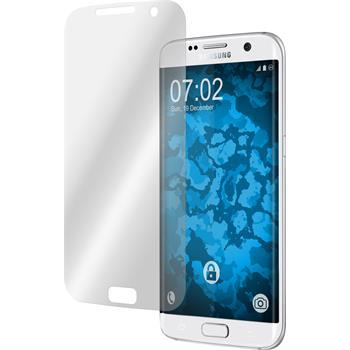 4 x Galaxy S7 Edge Schutzfolie klar