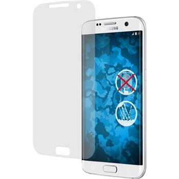 4 x Samsung Galaxy S7 Edge Displayschutzfolie matt