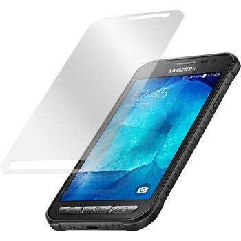 4 x Galaxy Xcover 3 Schutzfolie matt