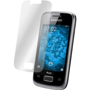 4 x Samsung Galaxy Y Duos Protection Film Clear