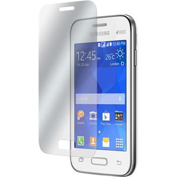 4 x Samsung Galaxy Young 2 Protection Film Clear