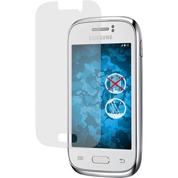 4 x Samsung Galaxy Young Protection Film Anti-Glare