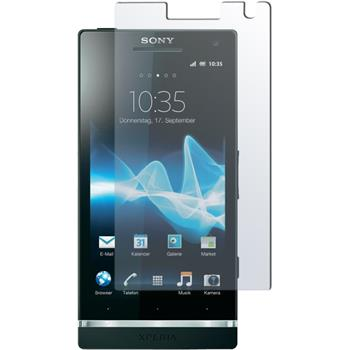 4 x Sony Xperia Arc HD Protection Film Clear