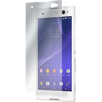 4 x Sony Xperia C3 Protection Film Clear