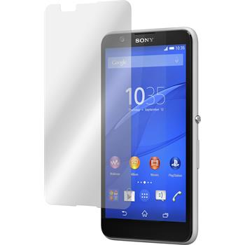4 x Sony Xperia E4 Protection Film Clear