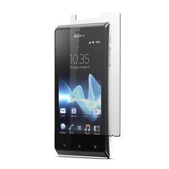 4 x Sony Xperia J Displayschutzfolie klar