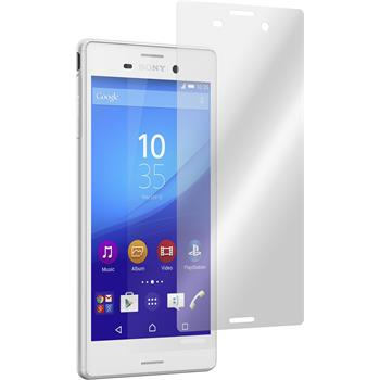 4 x Sony Xperia M4 Aqua Protection Film Clear