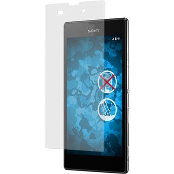 4 x Sony Xperia Style Displayschutzfolie matt