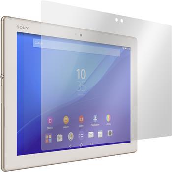 4 x Xperia Tablet Z4 Schutzfolie klar