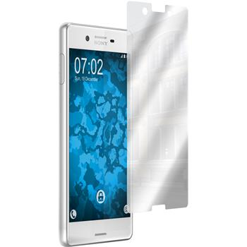 4 x Sony Xperia X Protection Film Mirror