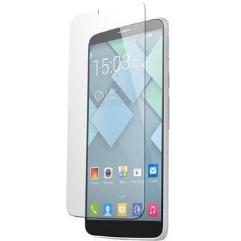 6 x Alcatel One Touch Hero Displayschutzfolie klar