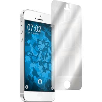 6 x iPhone SE Schutzfolie verspiegelt