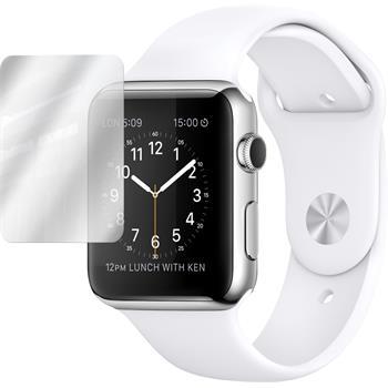 6 x Apple Watch 42mm Displayschutzfolie verspiegelt