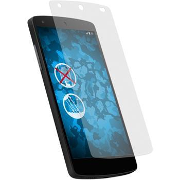 6 x Nexus 5 Schutzfolie matt