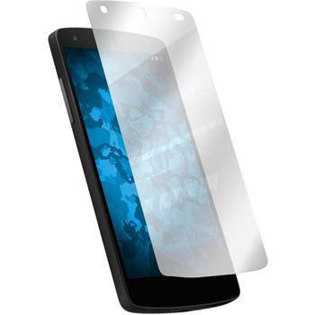 6 x Google Nexus 5 Displayschutzfolie verspiegelt