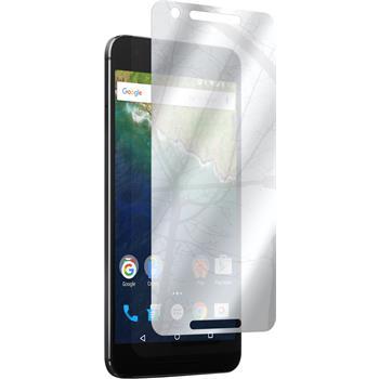 6 x Nexus 6P Schutzfolie verspiegelt