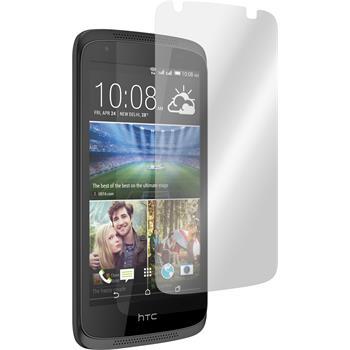 6 x HTC Desire 326G Displayschutzfolie matt