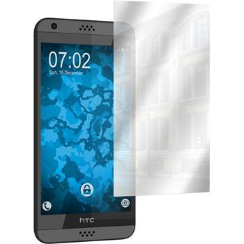 6 x HTC Desire 530 Displayschutzfolie verspiegelt