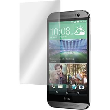 6 x HTC One M8s Displayschutzfolie matt