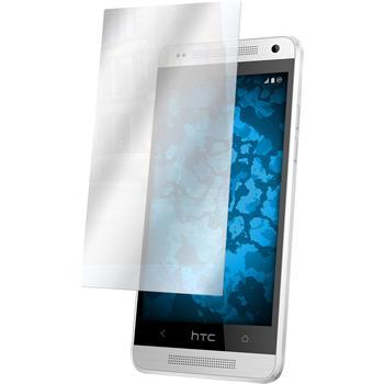 6 x HTC One Mini Displayschutzfolie verspiegelt