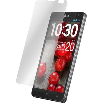 6 x LG Optimus L9 II Displayschutzfolie klar