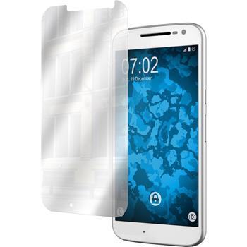 6 x Motorola Moto G4 Protection Film Mirror