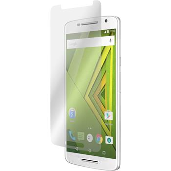 6 x Motorola Moto X Play Protection Film Anti-Glare