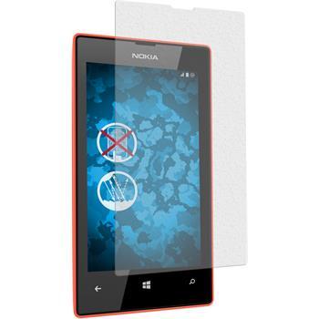 6 x Nokia Lumia 525 Displayschutzfolie matt