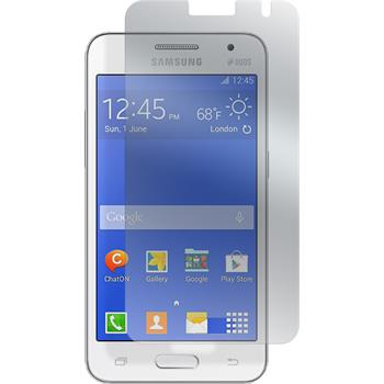 6 x Samsung Galaxy Core 2 Displayschutzfolie matt