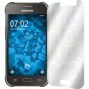 6 x Galaxy J1 ACE Schutzfolie verspiegelt
