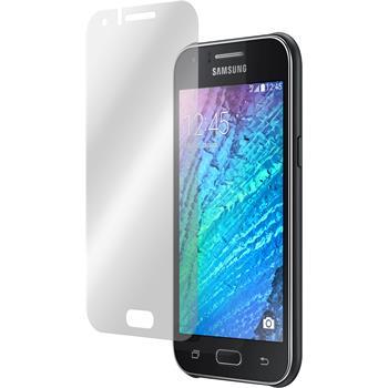 6 x Samsung Galaxy J1 (J100) Displayschutzfolie matt