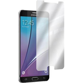 6 x Galaxy Note 5 Schutzfolie verspiegelt