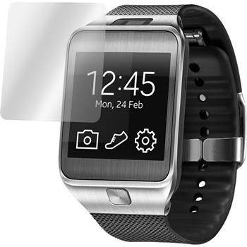 6 x Samsung Gear 2 Displayschutzfolie klar