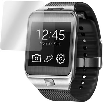 6 x Samsung Gear 2 Displayschutzfolie matt