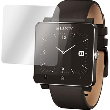 6 x Sony Smartwatch 2 Displayschutzfolie matt
