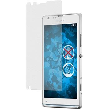 6 x Sony Xperia SP Displayschutzfolie matt