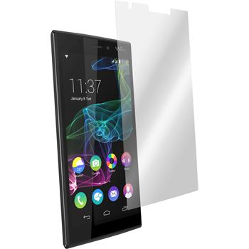 6 x Wiko Ridge Fab 4G Protection Film Clear