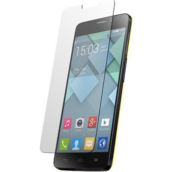 8 x Alcatel One Touch Idol S Displayschutzfolie klar
