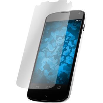 8 x Google Nexus 4 Displayschutzfolie klar