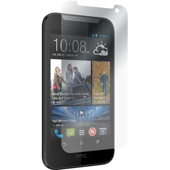 8 x HTC Desire 310 Displayschutzfolie matt