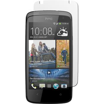 8 x HTC Desire 500 Displayschutzfolie matt