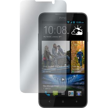 8 x HTC Desire 516 Protection Film Clear