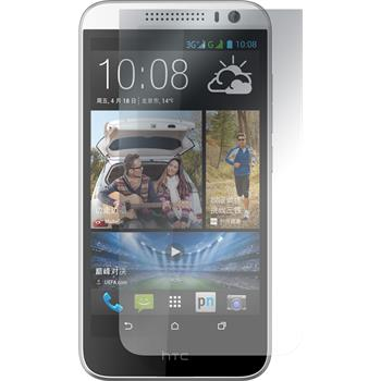 8 x HTC Desire 616 Protection Film Clear