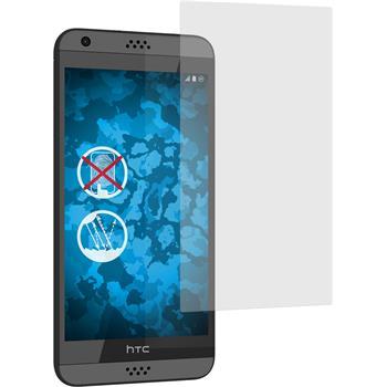 8 x HTC Desire 630 Displayschutzfolie matt