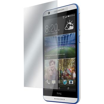 8 x HTC Desire 820 Protection Film Clear