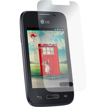 8 x LG L35 Protection Film Clear