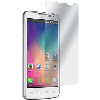 8 x LG L60 Dual Protection Film Clear