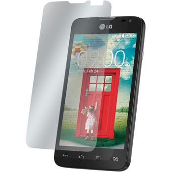 8 x LG L65 Dual Protection Film Clear